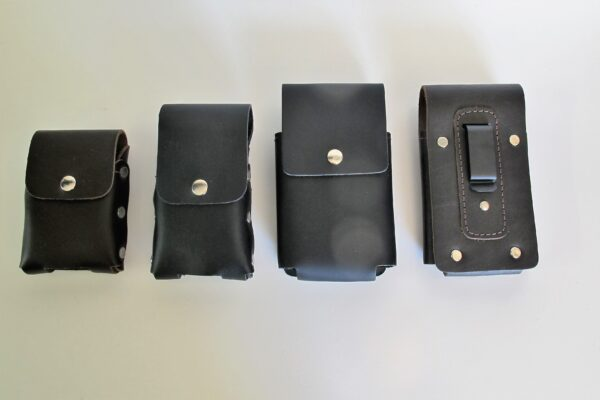 Leather Phone Pouch Vertical All Sizes