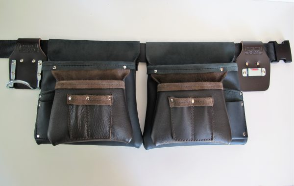 Style 100 Two Tone Leather Tool Bag