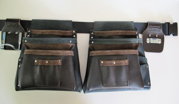 Style 100 Deluxe Double Tool Bag Two Tone