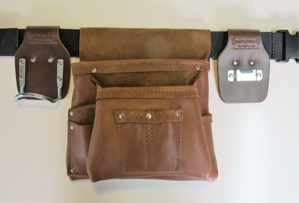 Style 200 Leather Tool Bag Front View