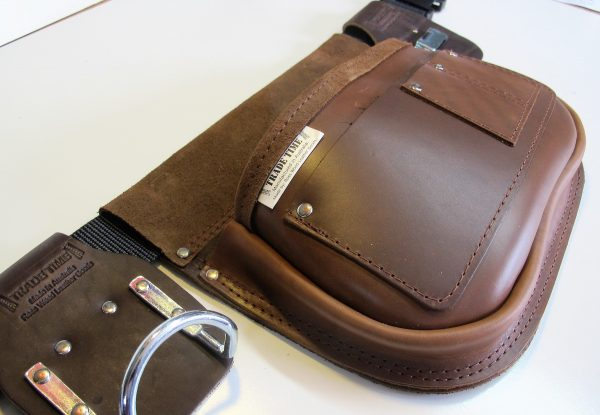 Style 300 Leather Tool Bag Angled View