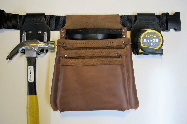Style 600 Leather Tool Bag