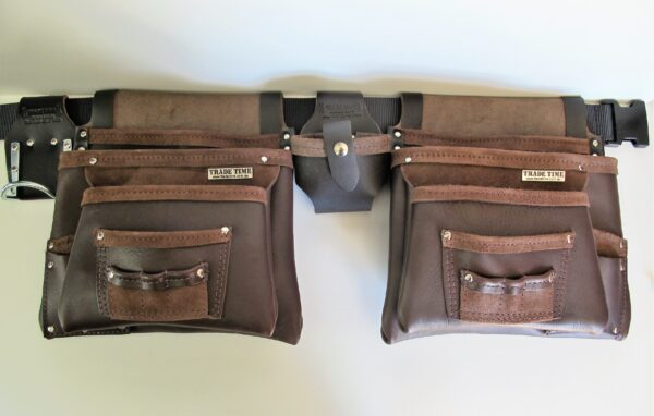 Big Bag Double Front Leather Tool Bag