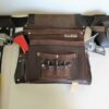 Big Bag Single Leather Tool Bag Front with Tools
