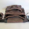 Big Bag Single Leather Tool Bag Interior