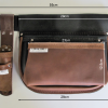 Style 400 Leather Tool Bag Dimensions