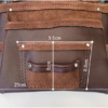 Big Bag Single Leather Tool Bag Dimensions Front Pocket