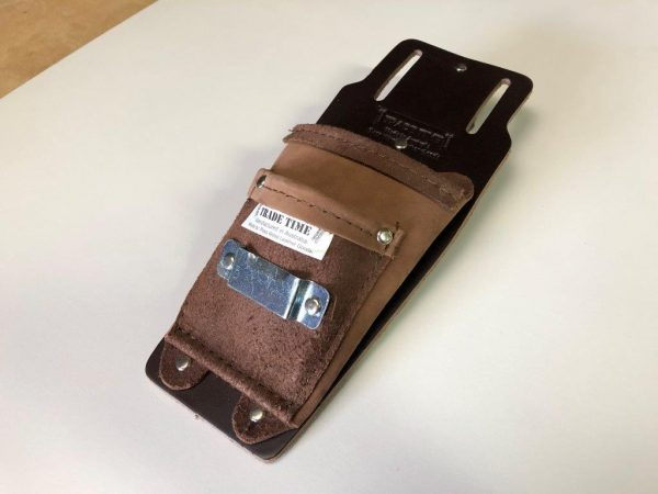 XXL Utility Pouch with Tape Angled View