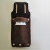 Leather Secateur Pouch Front