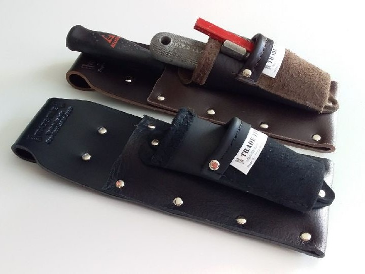 2 x Single Chisel Pouch Combination with Utility Pouch Angled View