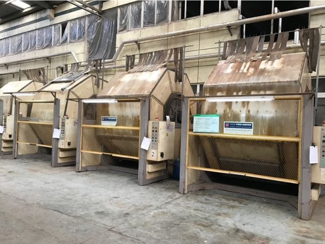 Mineral Tanning - Machinery
