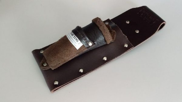 Single Chisel Pouch Combination with Utility Pouch Angled View