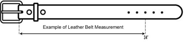 Example of Belt Measurement