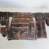 Ultimate Tradie Leather Tool Bag Dimensions
