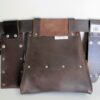 Ultimate Tradie Leather Tool Bag Back