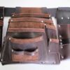 Ultimate Tradie Leather Tool Bag Front